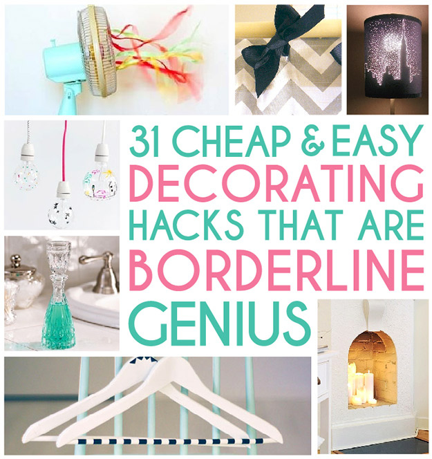 Delightful 31 Home Decor Hacks That Are Borderline Genius
