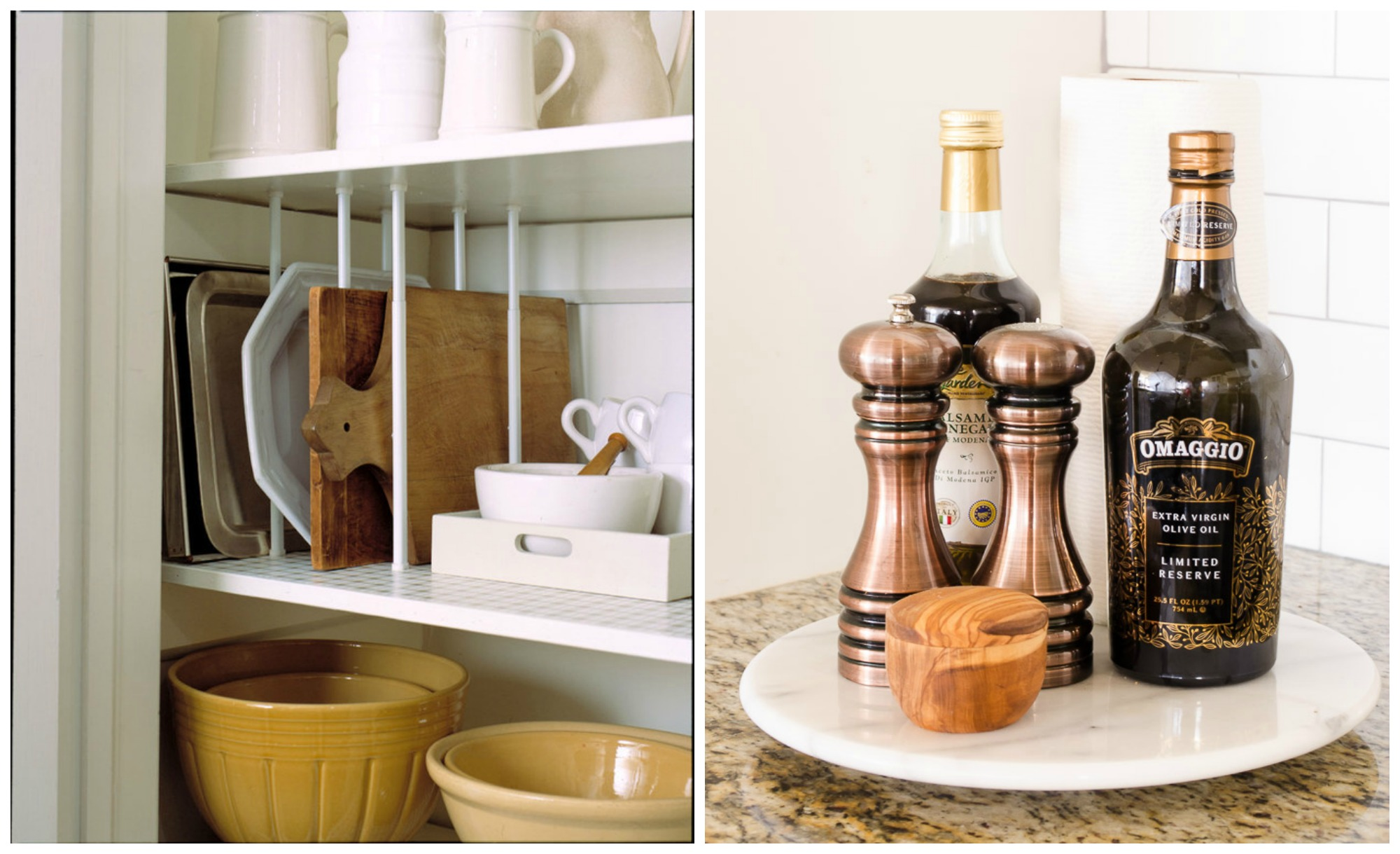 8 beyond easy kitchen organization hacks for Kitchen organization hacks
