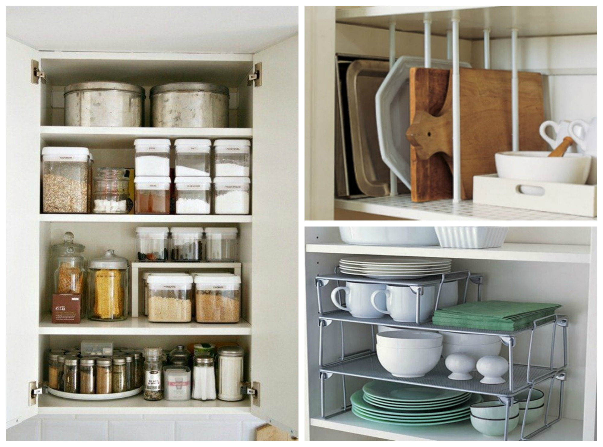 kitchen cabinet organization ideas 9 Kitchen CabiOrganization Ideas That are Beyond Easy kitchen cabinet organization ideas