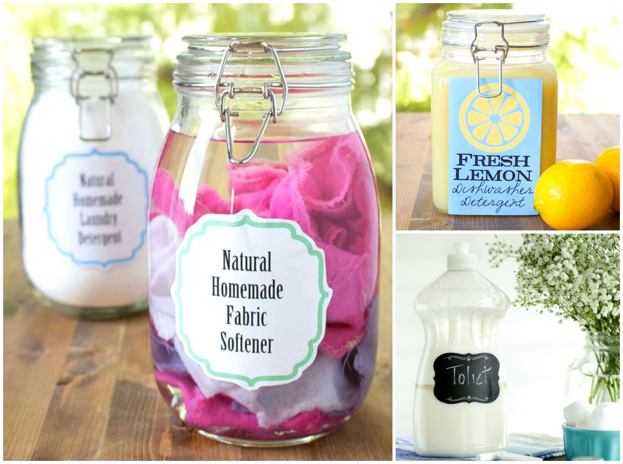 7 Non-Toxic DIY Cleaning Products That'll Save You Money