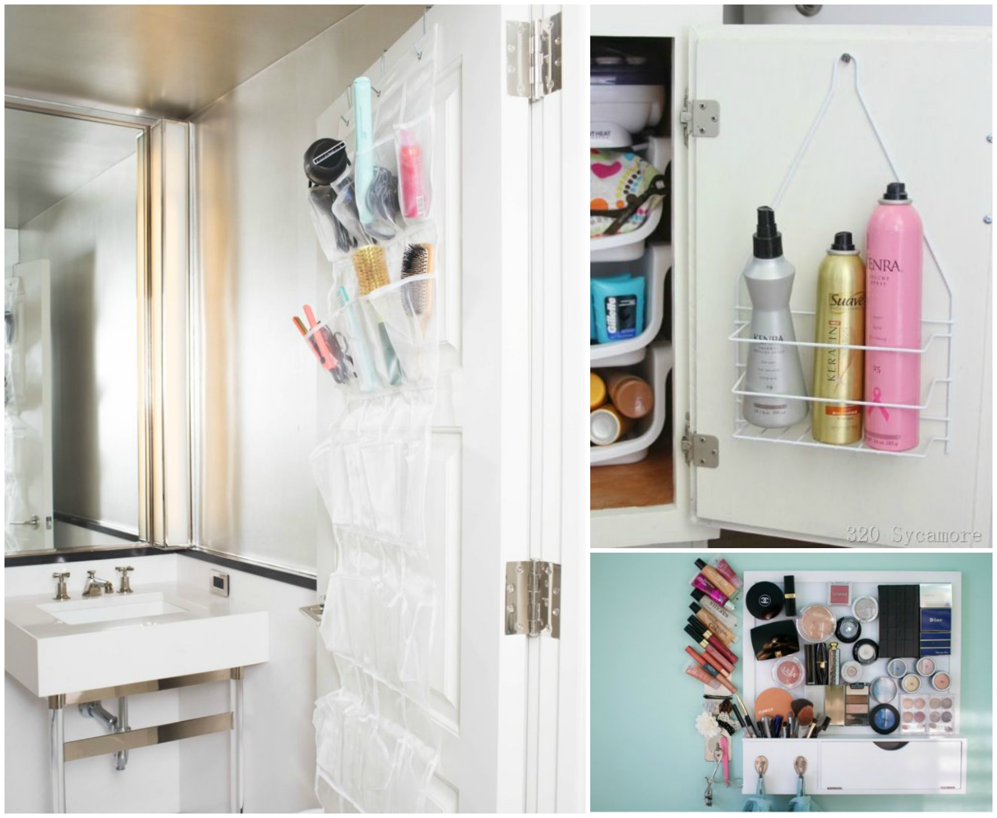 12 dollar store organization hacks for your small bathroom for Small bathroom hacks