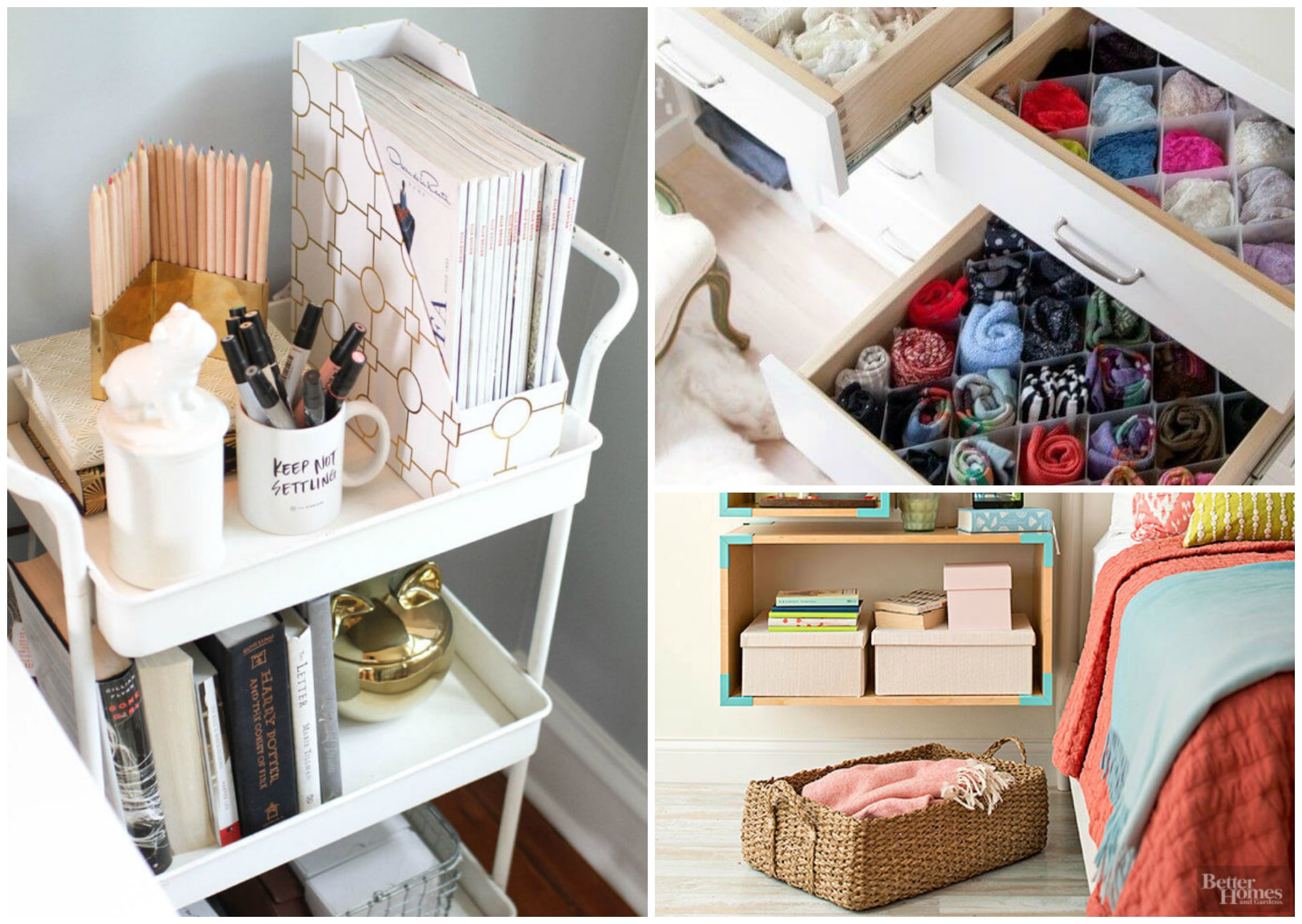 9 super efficient ways to organize your small bedroom for Ways to set up a small bedroom