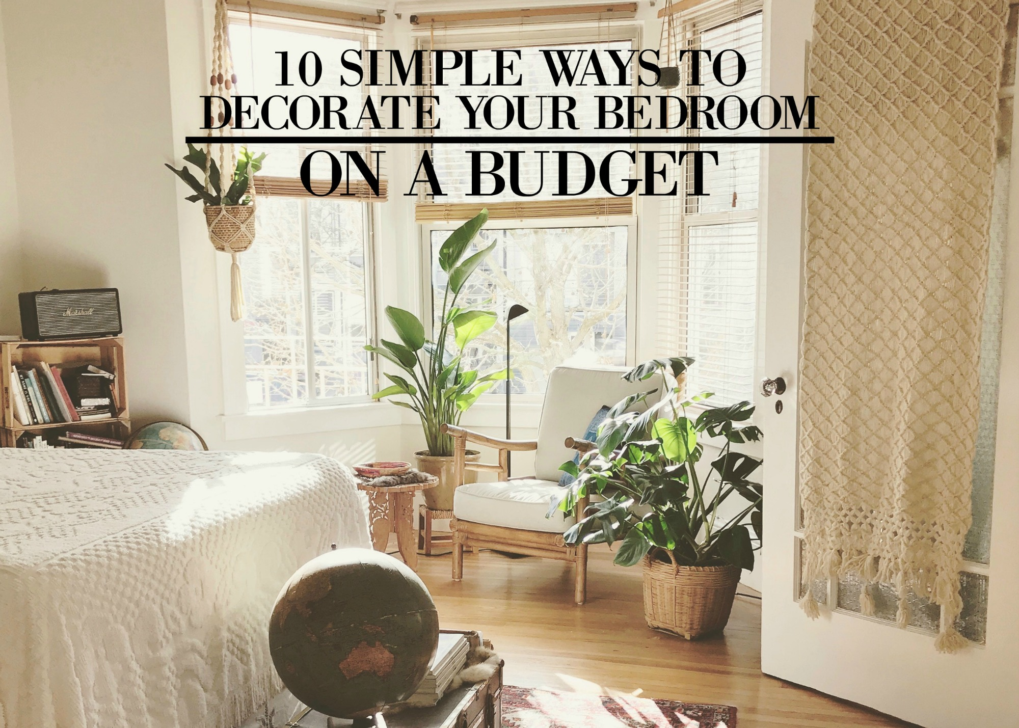 10 simple ways to decorate your bedroom on a budget - Decorating on a budget ...