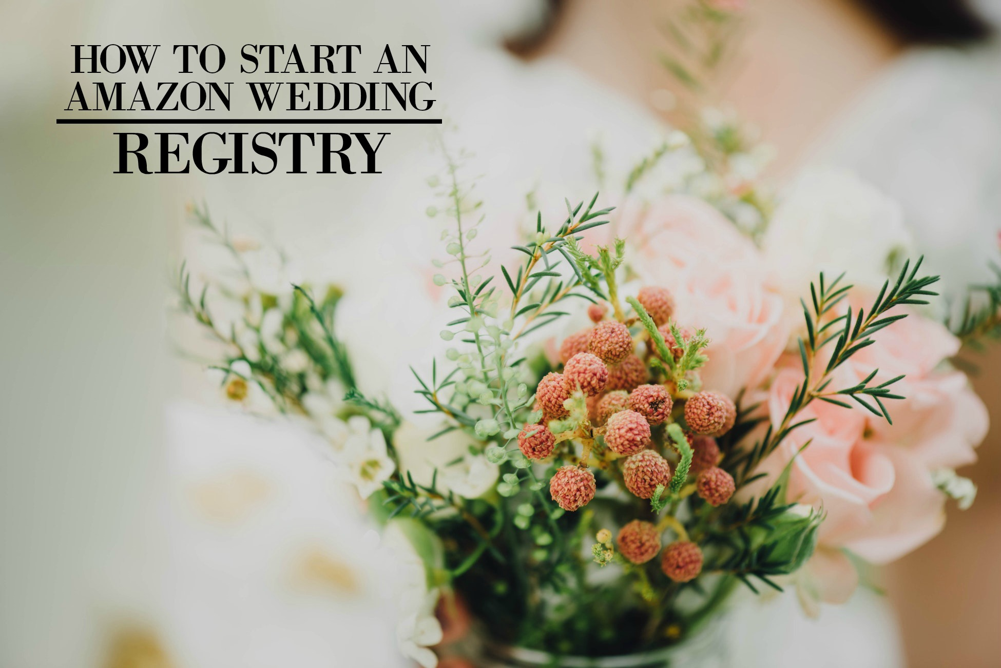 How to start an amazon wedding registry solutioingenieria Image collections