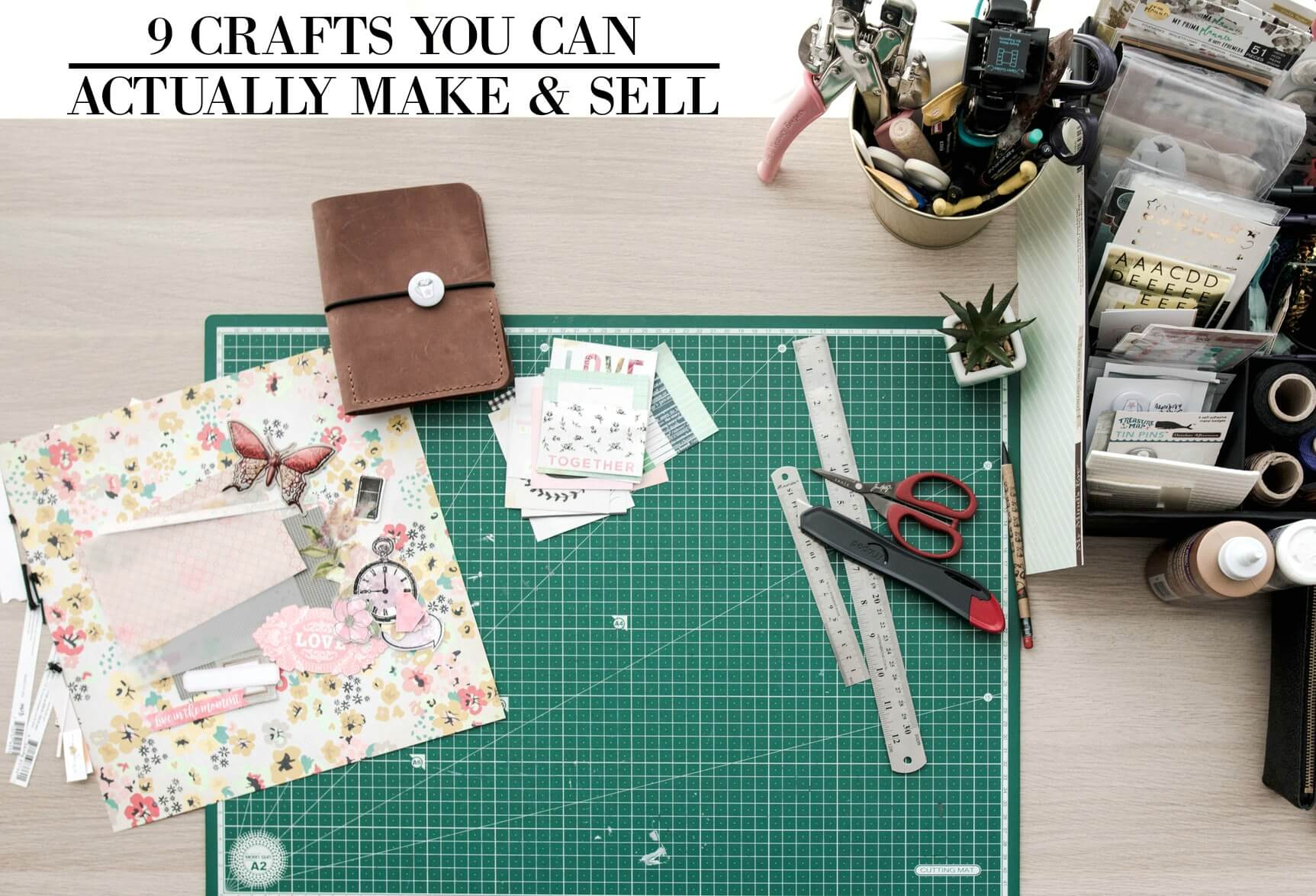 9 Crafts You Can Easily Make Sell Online